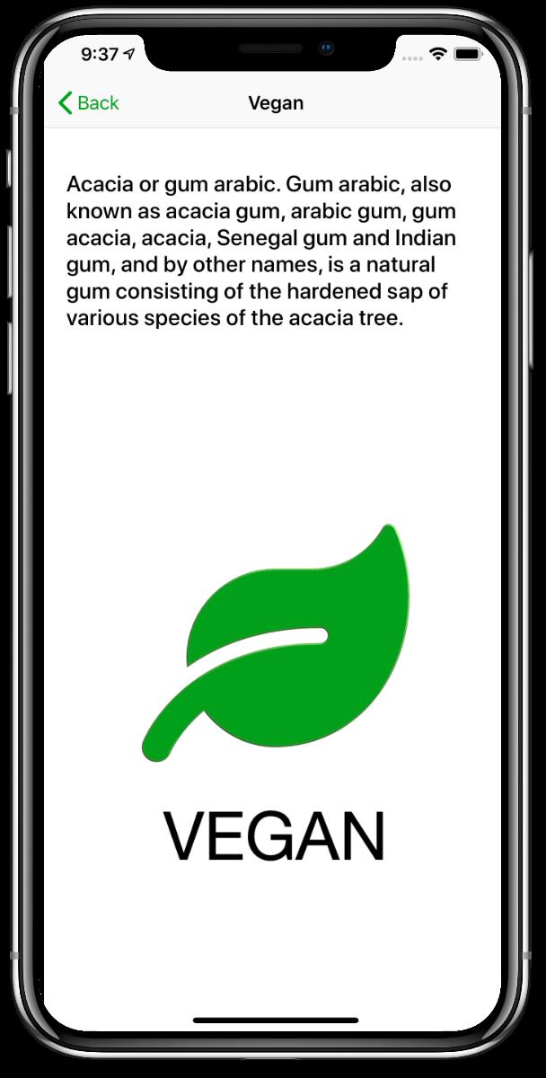 Fussy Vegan Additives USA app