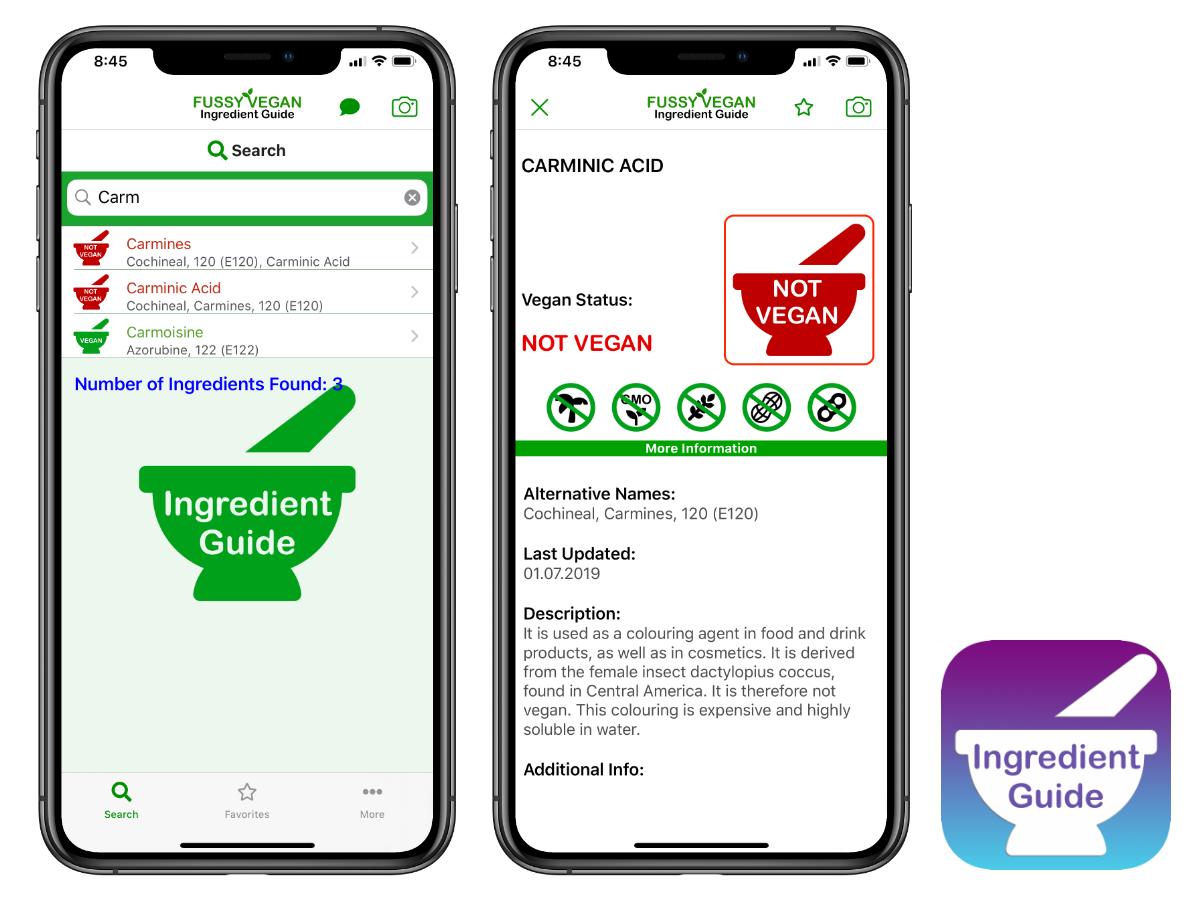 Vegan Food Finder App.