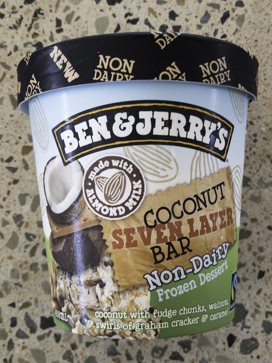 Ben & Jerry Coconut Seven Layer