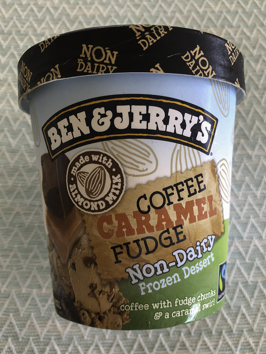 Ben & Jerry&#8217s Coffee Caramel Fudge ice cream