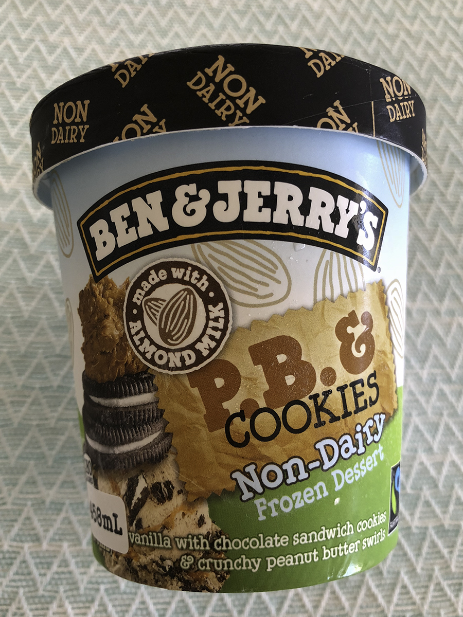 Ben & Jerry P.B and Cookie