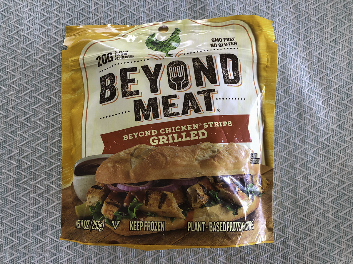 Beyond Meat Chicken Strips Grilled
