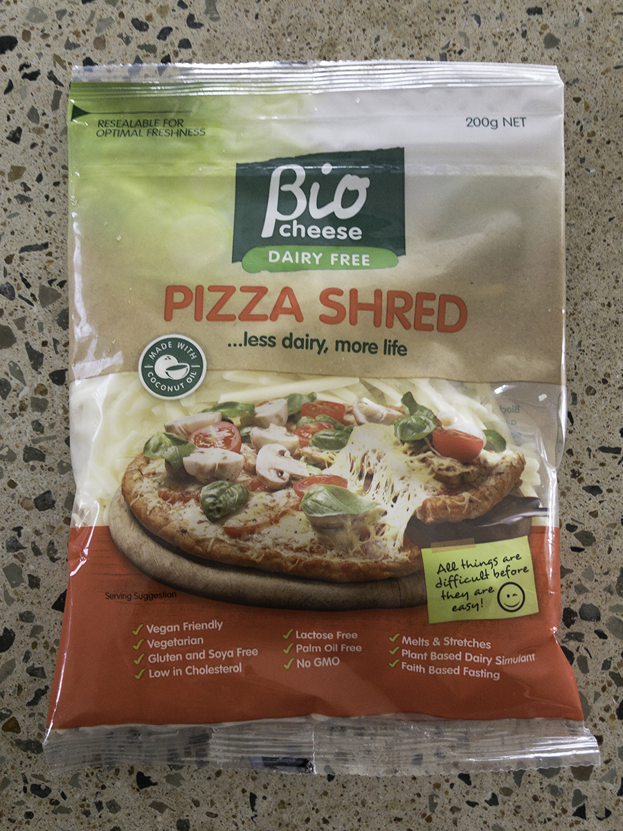 my life Pizza Shred