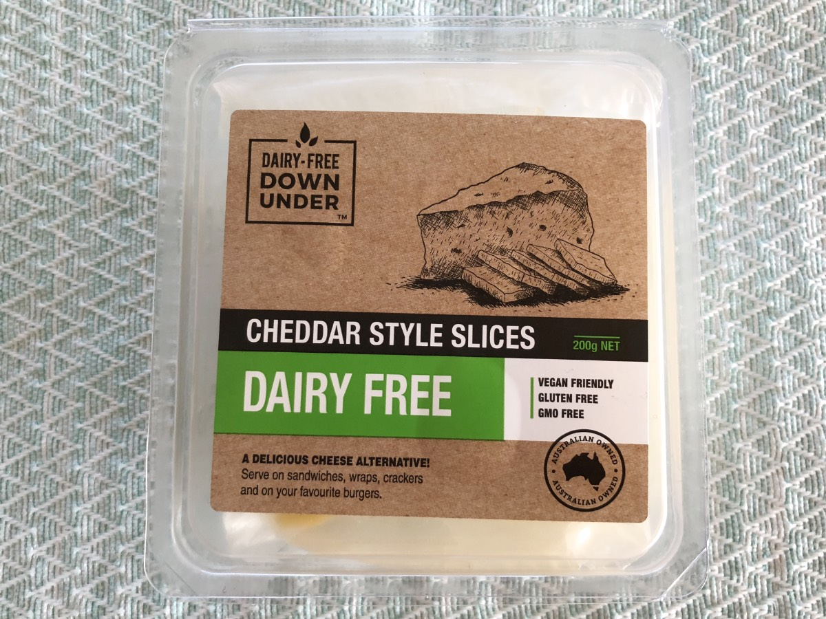 Dairy-Free Down Under Cheddar Cheese