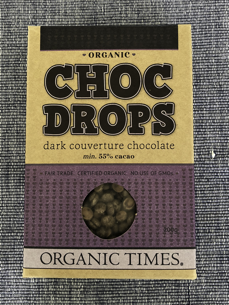 Organic Times Dark Choc Drops