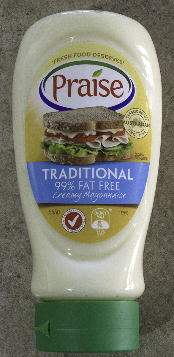 Praise Traditional 99% Fat Free Mayonnaise
