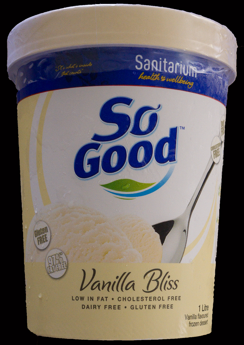 So Good Vanilla Bliss Ice Cream