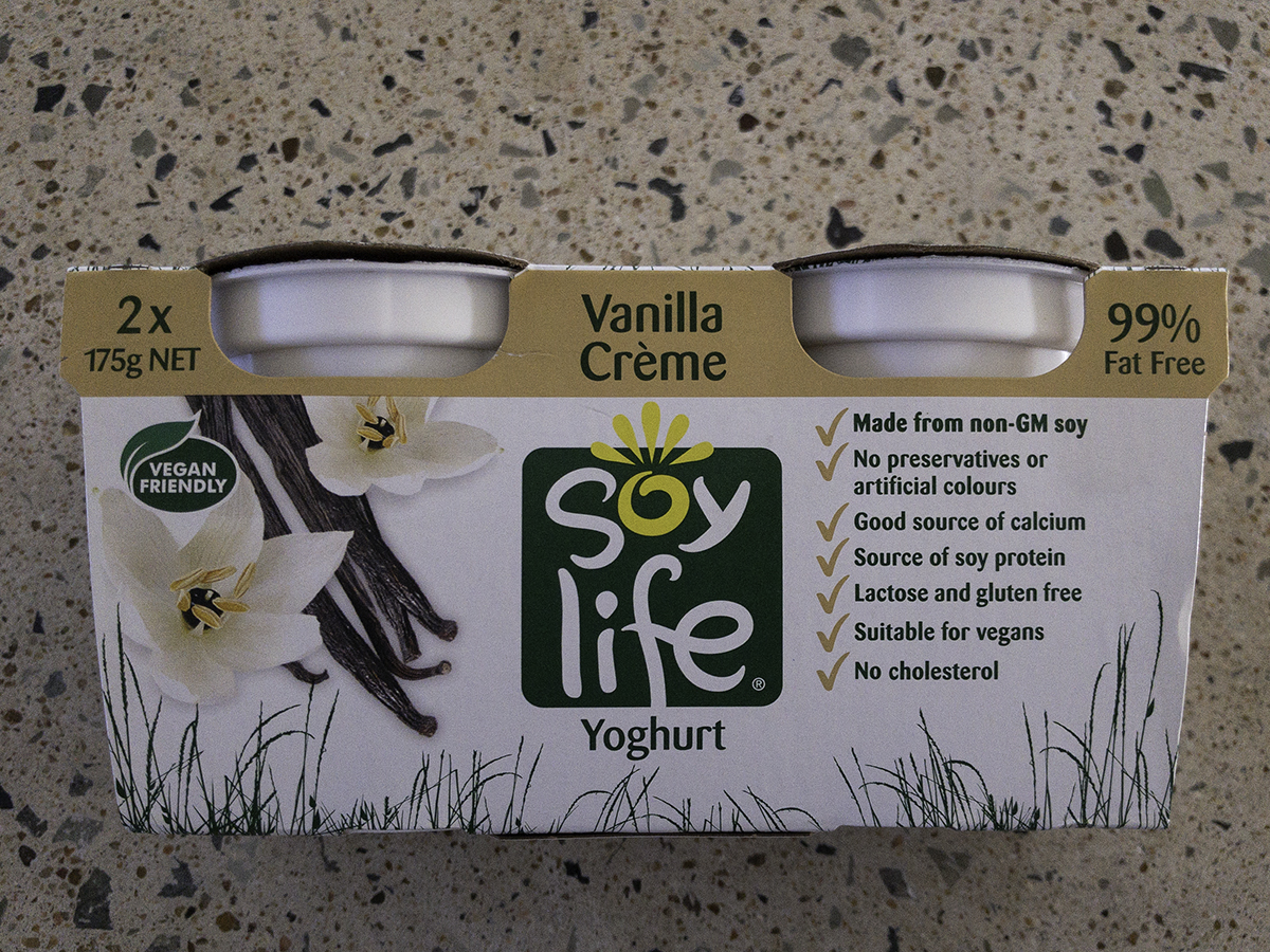Soy Life vanilla Yoghurt