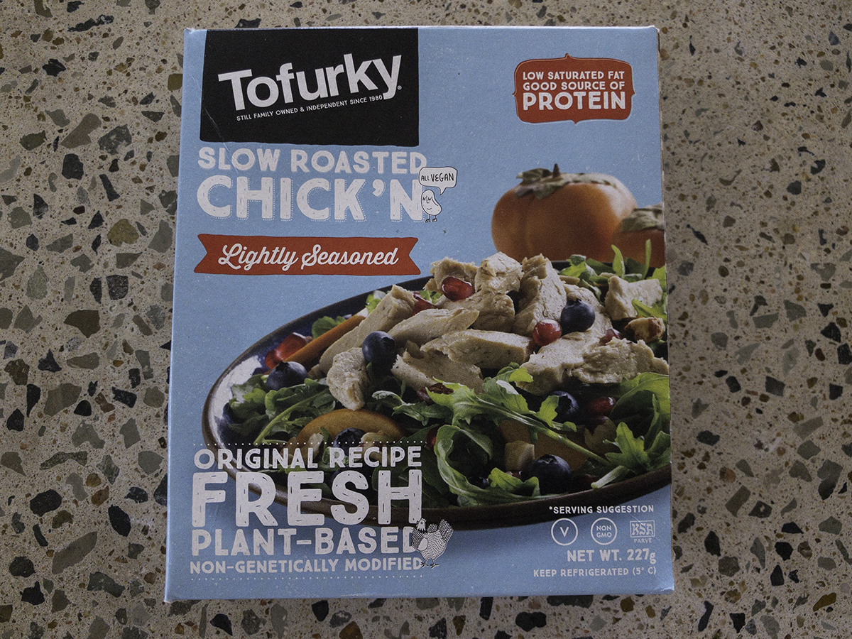 Tofurky Sow Roasted Chickn pieces