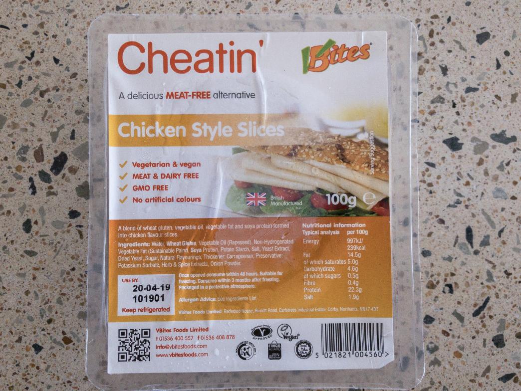 VBites Chicken Style Slice