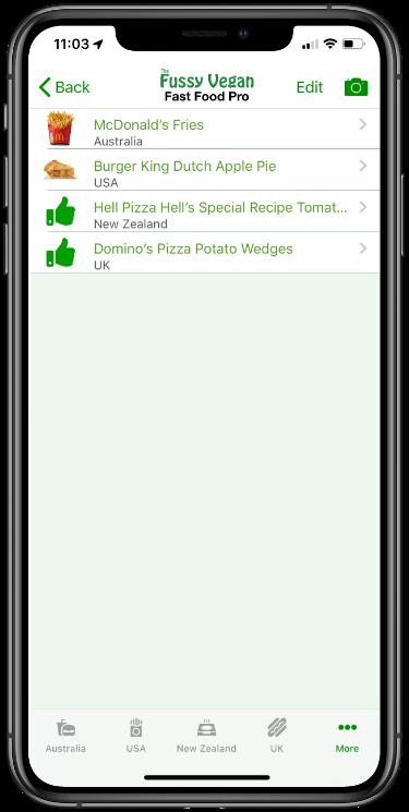 ussy Vegan Scanner app