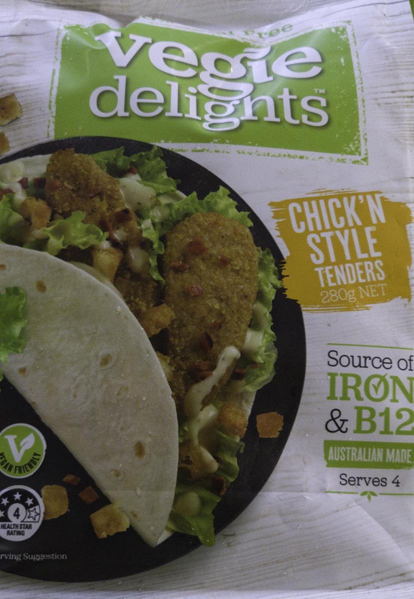 Vegie Delights Chick&#8217n Style Tenders