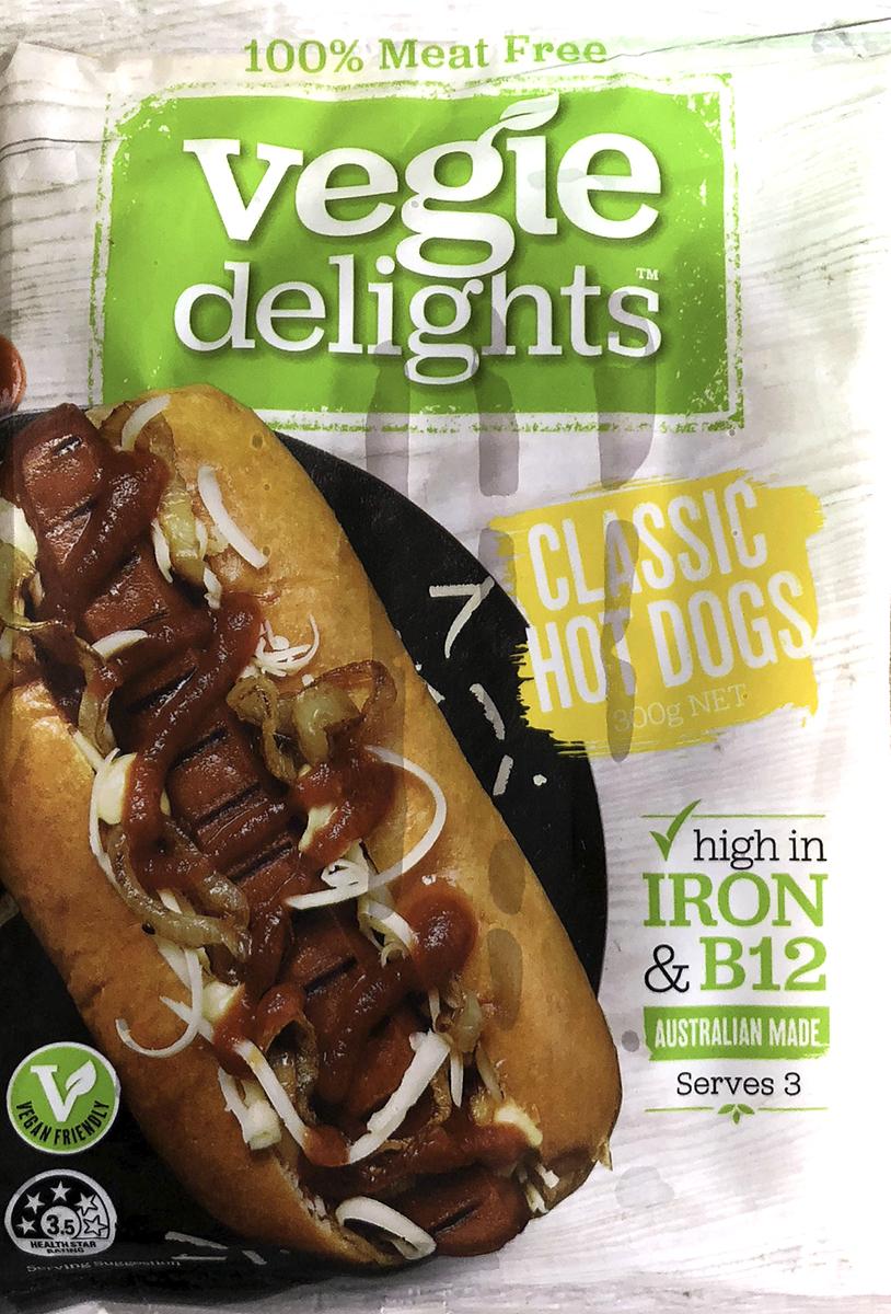 Vegie Delights Hot Dogs
