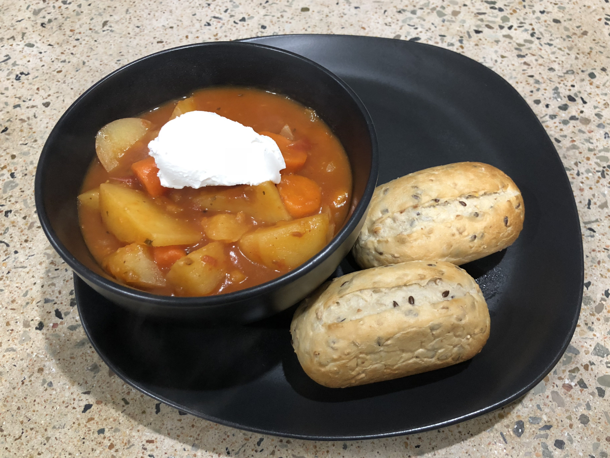 Vegan vegetable stew